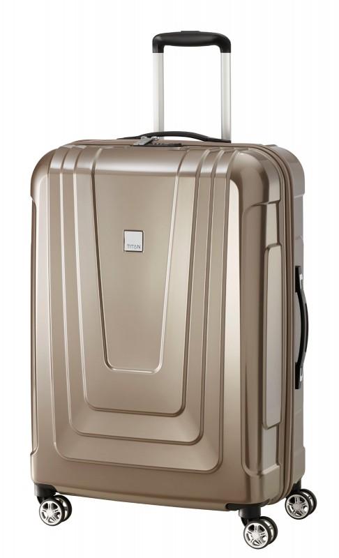 Titan X-RAY Extra lehký skořepinový kufr 72cm (Café au Lait)