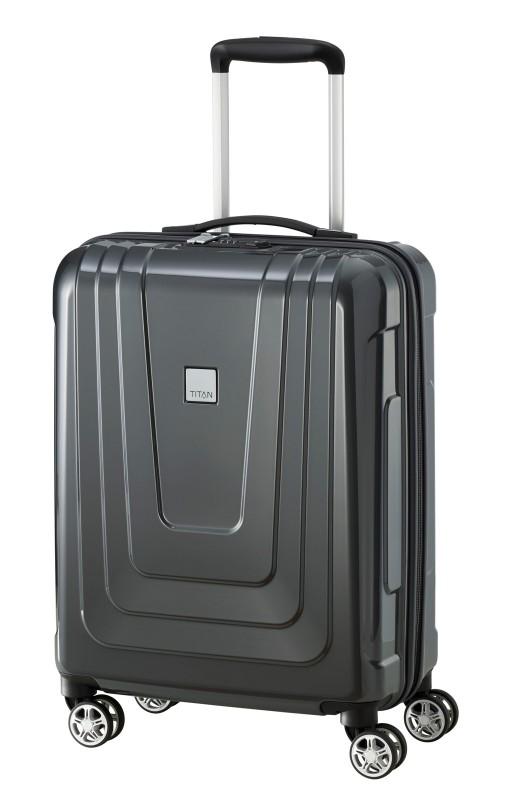 Titan X-RAY Palubní extra lehký skořepinový kufr 55cm (Dark Stone)