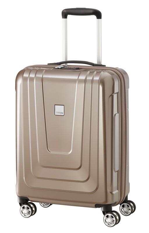 Titan X-RAY Palubní extra lehký skořepinový kufr 55cm (Café au Lait)