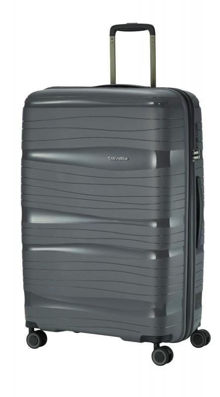 Travelite MOTION Velký skořepinový kufr 77 cm (Anthracite)