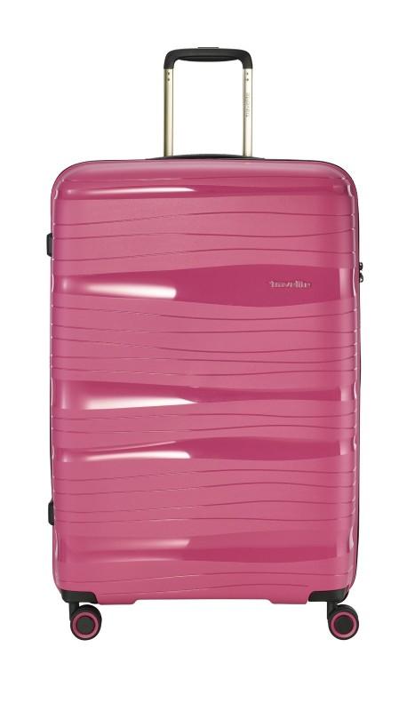 Travelite MOTION Velký skořepinový kufr 77 cm (Rose)