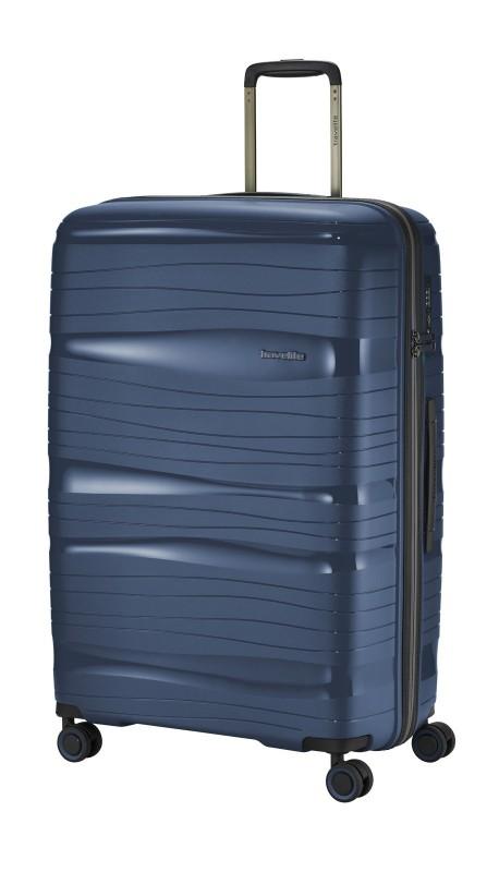 Travelite MOTION Velký skořepinový kufr 77 cm (Navy)