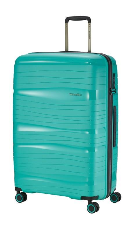 Travelite MOTION Velký skořepinový kufr 77 cm (Mint)