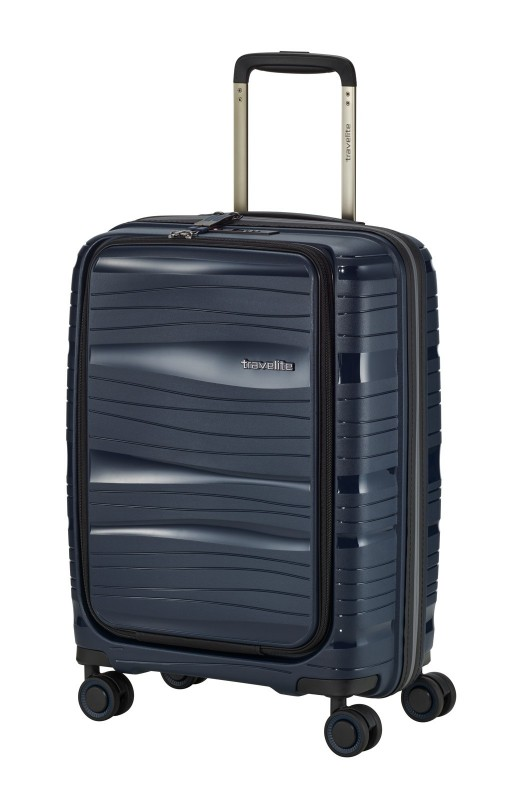 Travelite MOTION Palubní kufr s výklopnou kapsou 55 cm (Navy)