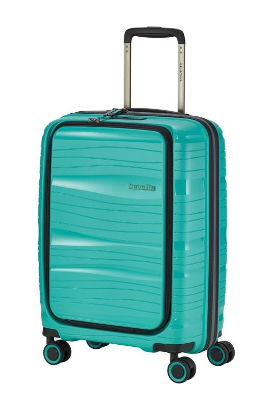 Travelite MOTION Palubní kufr s výklopnou kapsou 55 cm (Mint)