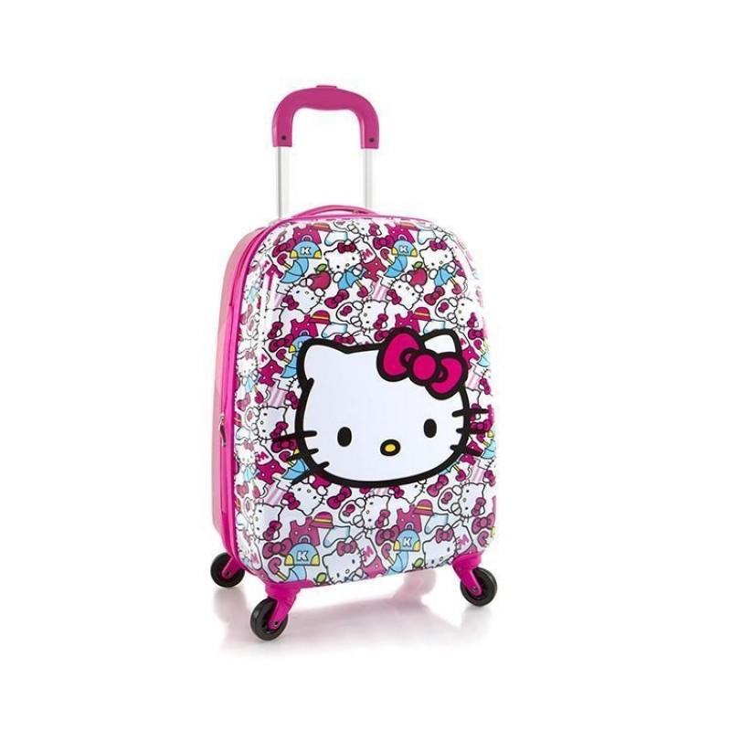 Heys KIDS Dětský kufr, motiv Tween Spinner Hello Kitty