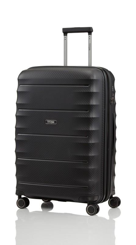 Titan HIGHLIGHT Extra odolný skořepinový kufr 67cm (Black)