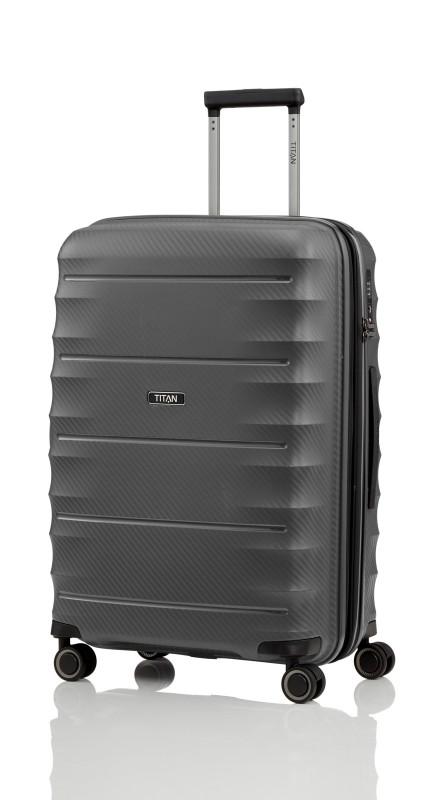Titan HIGHLIGHT Extra odolný skořepinový kufr 67 cm (Anthracite)