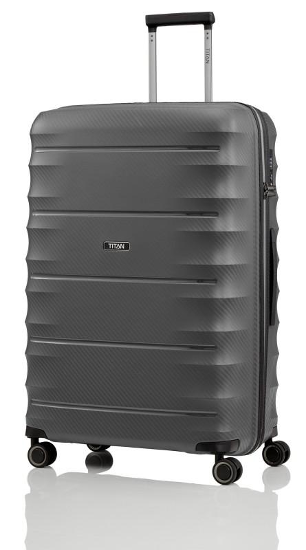 Titan HIGHLIGHT Extra odolný skořepinový kufr 76cm (Anthracite)