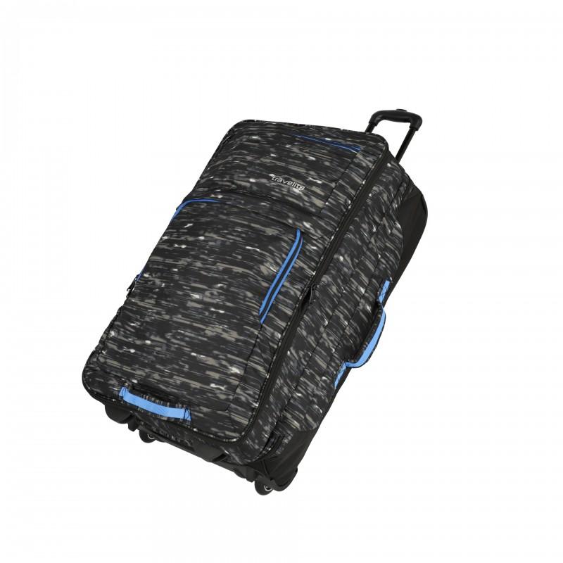 Travelite BASICS Cestovní taška 2 kolečka, 78 cm (Black print)