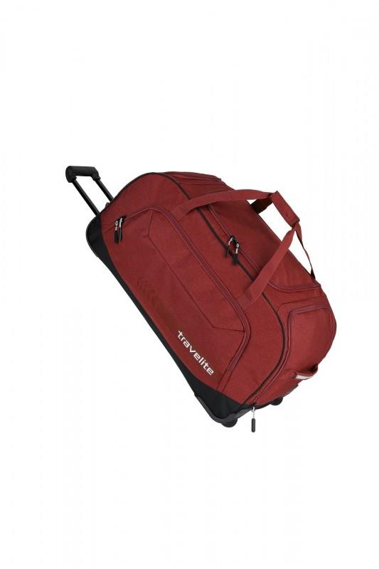 Travelite KICK-OFF Cestovní taška na kolečkách 77 cm, XL (Red)