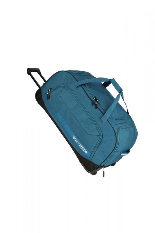 Travelite KICK-OFF Cestovní taška na kolečkách 77 cm, XL (Petrol)