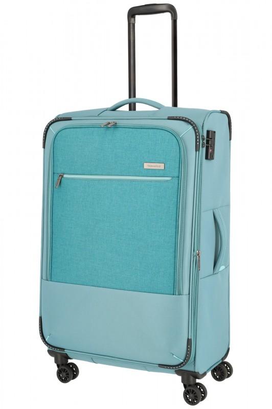 Travelite ARONA Moderní textilní kufr 77cm (Aqua)
