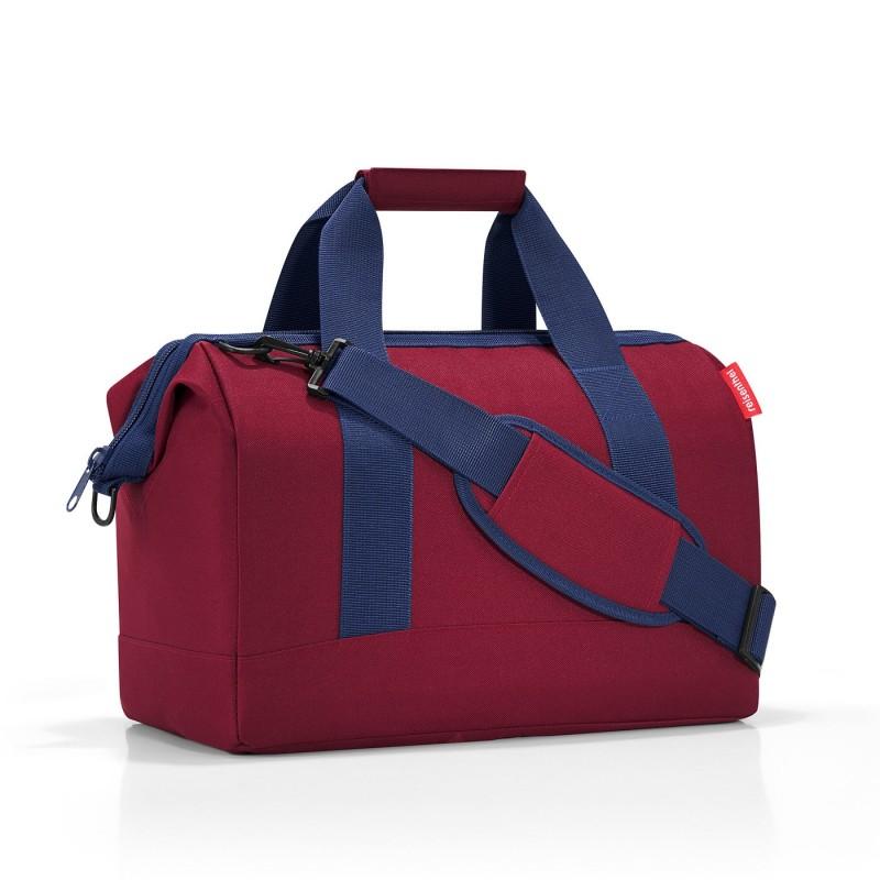 Reisenthel ALLROUNDER Cestovní taška přes rameno, M (Dark Ruby)