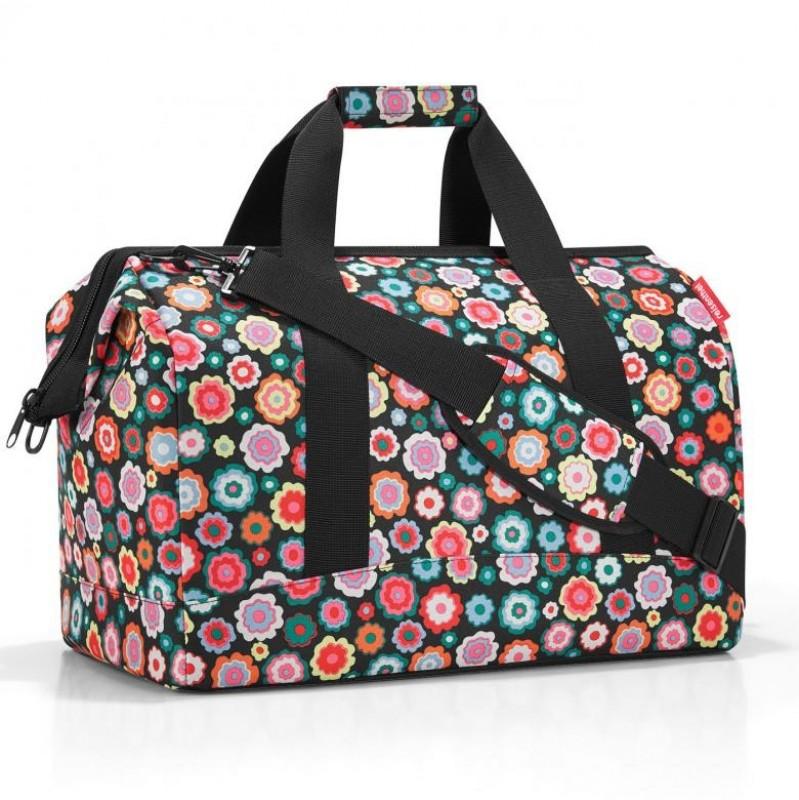 Reisenthel ALLROUNDER Cestovní taška přes rameno, L (Happy Flowers)