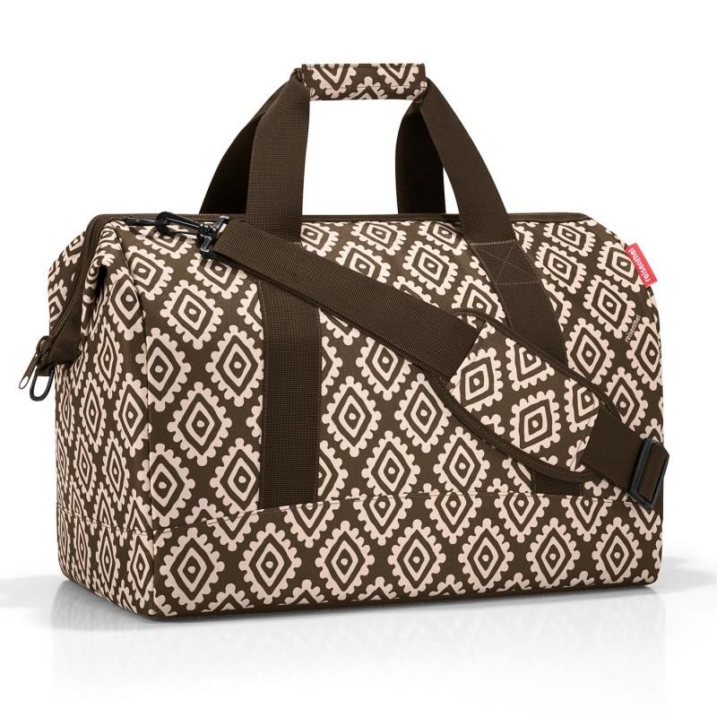 Reisenthel ALLROUNDER Cestovní taška přes rameno, L (Diamonds Mocha)