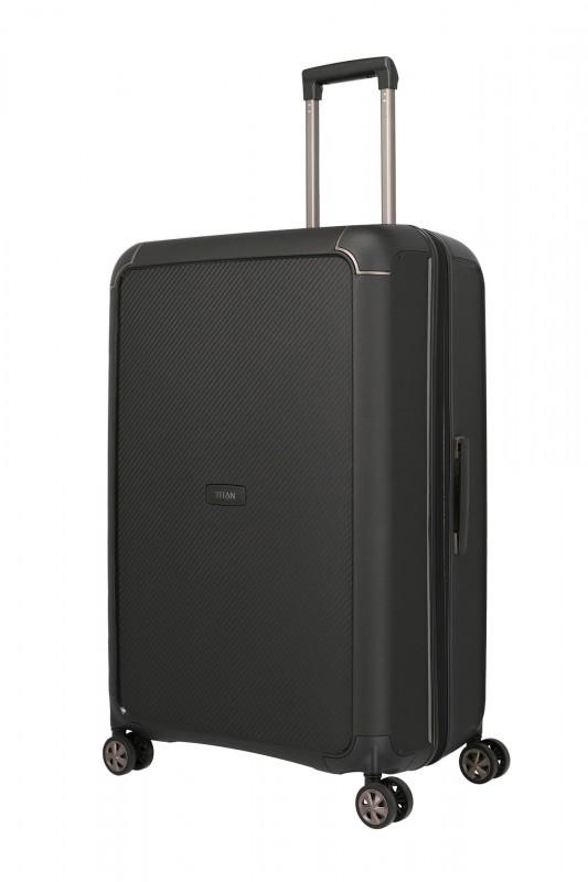 Titan COMPAX Velký skořepinový kufr 77cm (Black)