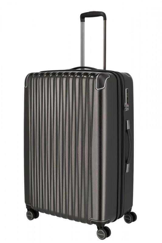 Titan BARBARA GLINT Velký cestovní kufr 77 cm (Anthracite metallic)