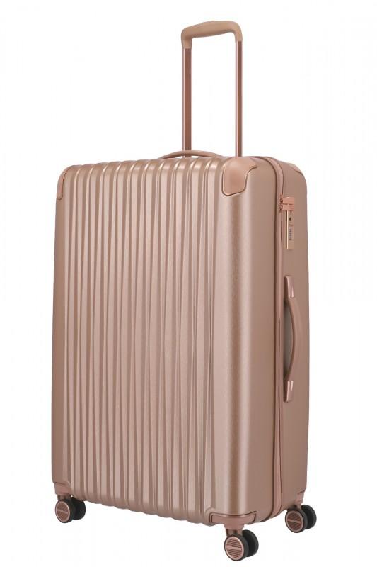 Titan BARBARA GLINT Velký cestovní kufr 77 cm (Rose metallic)