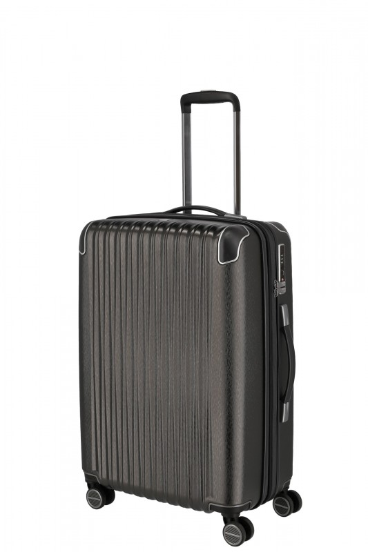 Titan BARBARA GLINT Rozšířitelný cestovní kufr 67 cm (Anthracite metallic)