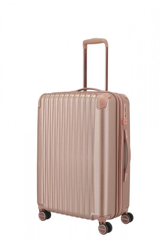 Titan BARBARA GLINT Rozšířitelný cestovní kufr 67 cm (Rose metallic)