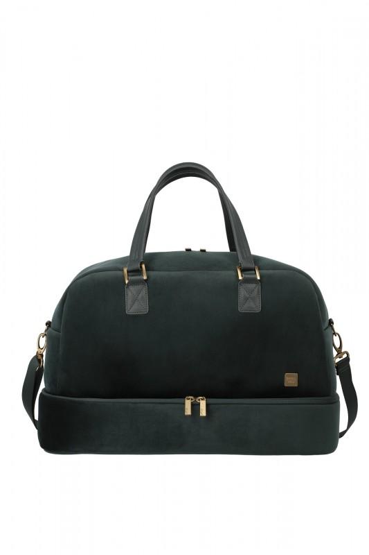 Titan BARBARA VELVET Dámská cestovní taška v imitaci sametu 49cm (Forest Green)