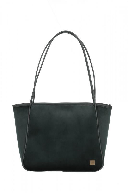 Titan BARBARA VELVET Dámská taška v imitaci sametu (Forest Green)