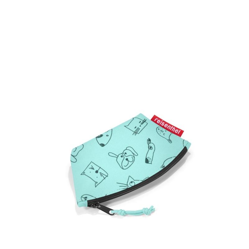Reisenthel COIN PURSE Dětská peněženka - Kids Cats and dogs mint