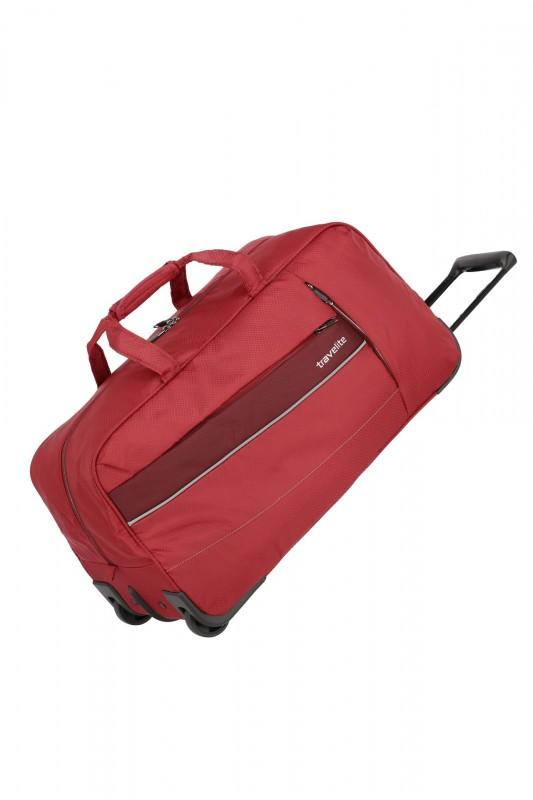 Travelite KITE Nejlehčí cestovní taška na kolečkách (Red)