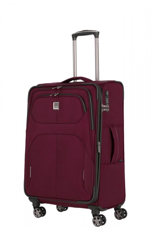 Titan NONSTOP Moderní textilní kufr 68cm (Merlot)