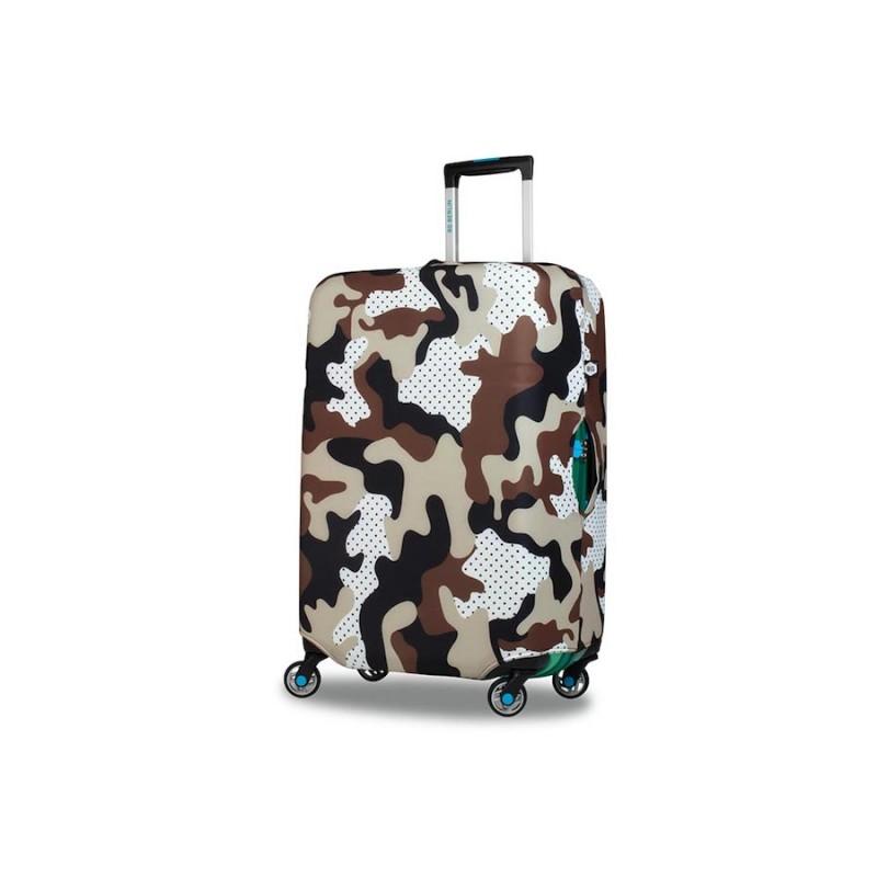 BG Berlin HUG COVER Obaly na kufr, vel. M - vzor Camo Safari