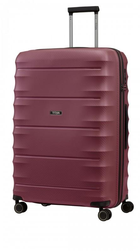 Titan HIGHLIGHT Extra odolný skořepinový kufr 76cm (Merlot)