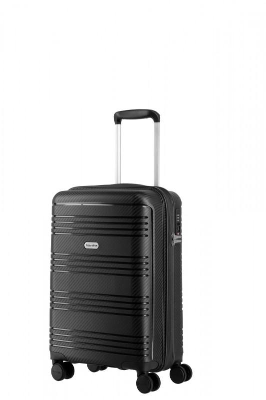Travelite ZENIT Příruční skořepinový kufr 55 cm (Black)