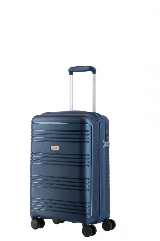 Travelite ZENIT Příruční skořepinový kufr 55 cm (Blue)