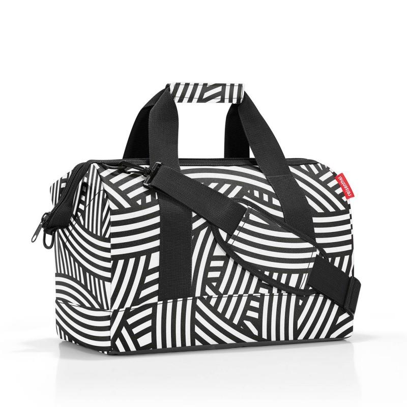 Reisenthel ALLROUNDER Cestovní taška přes rameno, M (Zebra)