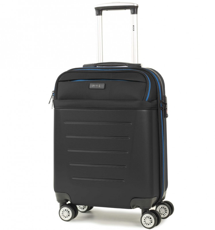 Rock HYBRID Kabinové zavazadlo 55cm (černá)