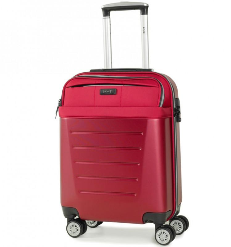 Rock HYBRID Kabinové zavazadlo 55cm (červená)