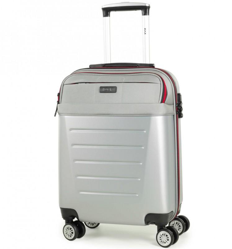 Rock HYBRID Kabinové zavazadlo 55cm (stříbrná)