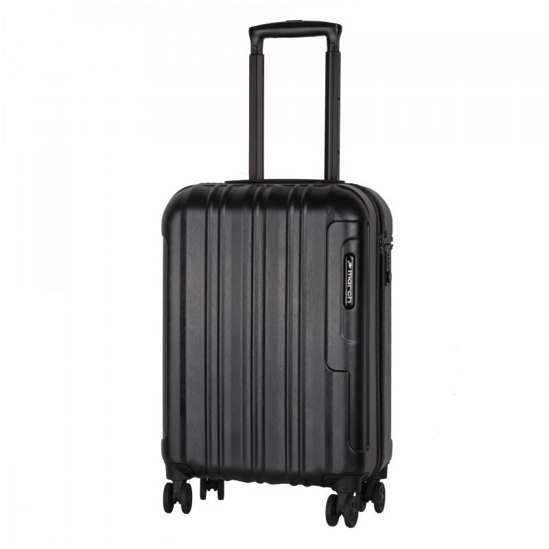 March COSMOPOLITAN SE Luxusní palubní kufr 55cm, S (Black alu)
