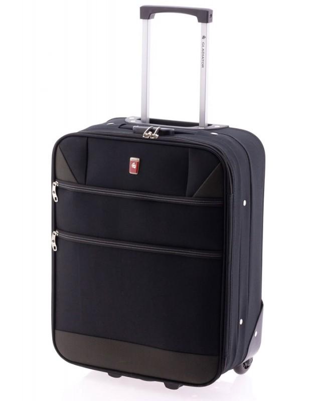 Gladiator METRO Kabinový kufr na dvou kolečkách (Black)
