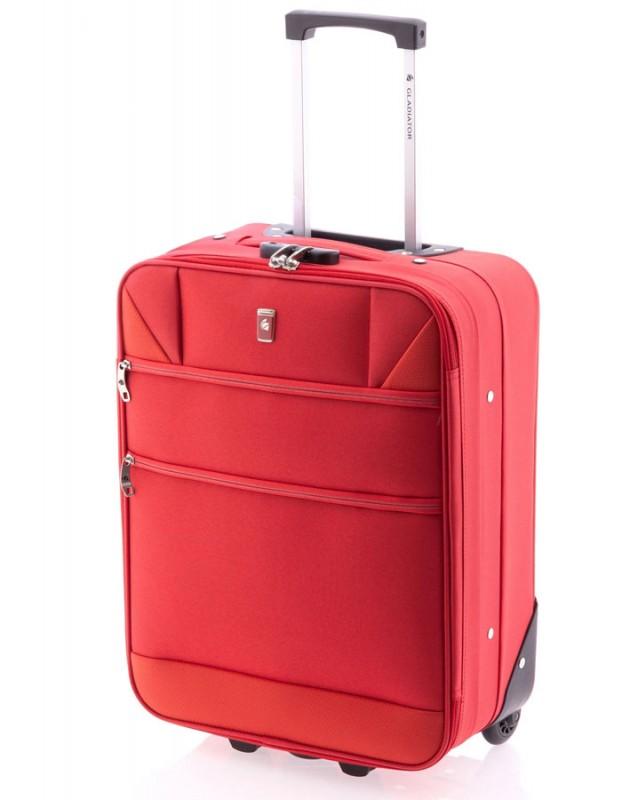 Gladiator METRO Kabinový kufr na dvou kolečkách (Red)