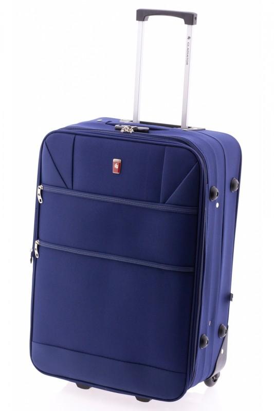 Gladiator METRO Rozšířitelný menší kufr na dvou kolečkách 61cm (Blue)