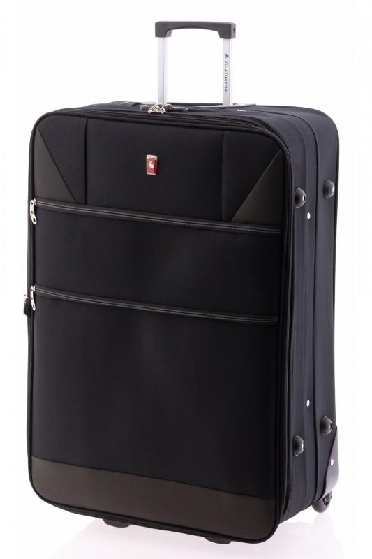 Gladiator METRO Velký rozšířitelný kufr na dvou kolečkách 83cm (Black)