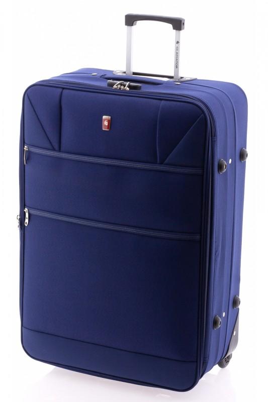 Gladiator METRO Rozšířitelný kufr na dvou kolečkách 72cm (Blue)