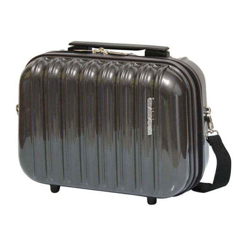Gladiator NEON LUX Kosmetický kufřík PC (Grey)