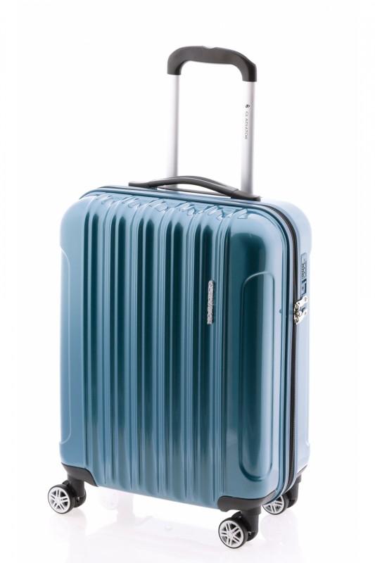 Gladiator NEON LUX Lehký polykarbonový kufr s TSA 55cm (Petrol blue)