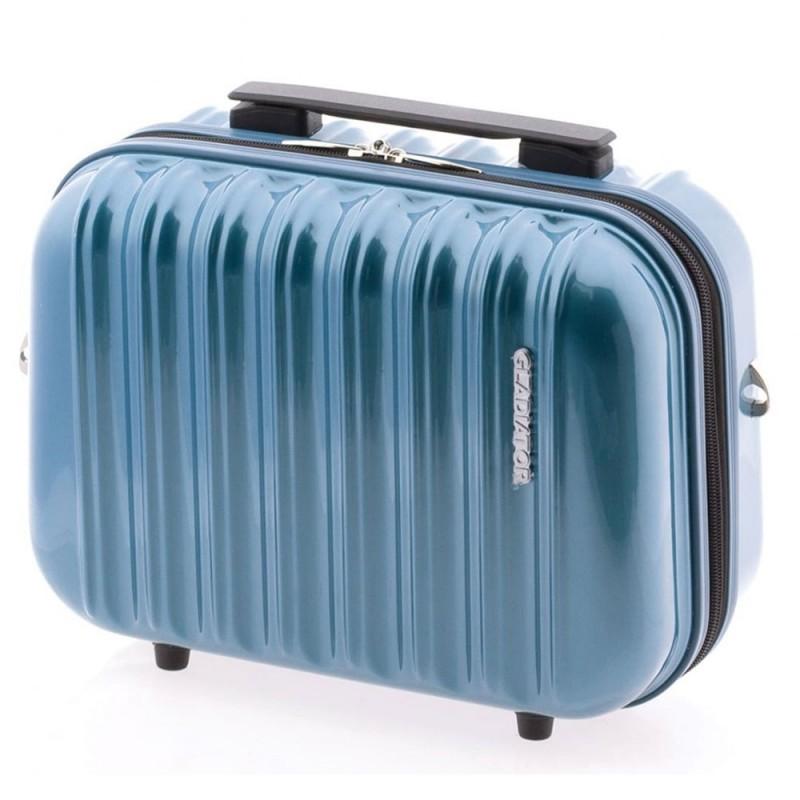 Gladiator NEON LUX Kosmetický kufřík PC (Petrol blue)