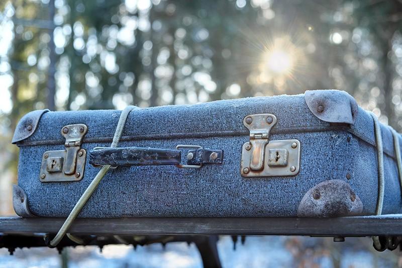 Cestovní kufry na kolečkách - z historie, I.část