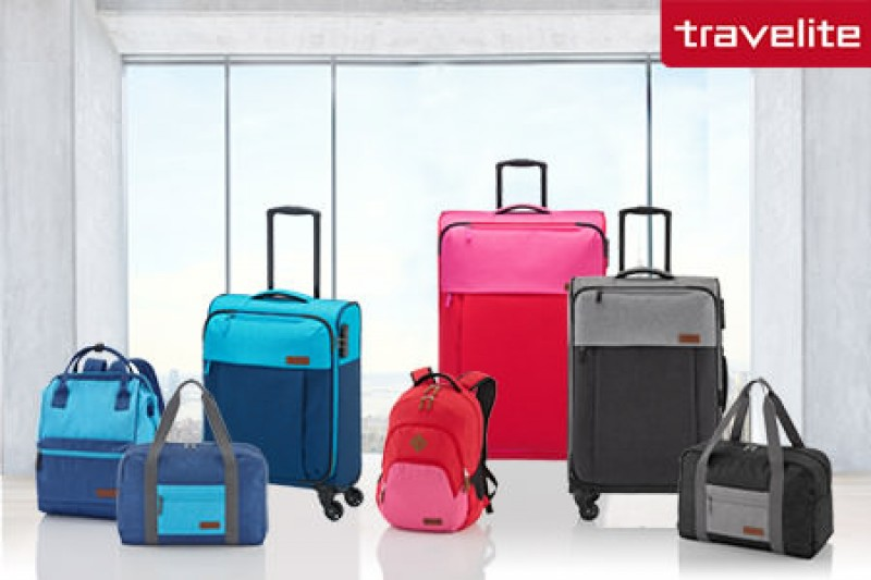 Pestro barevná kolekce Travelite NEOPAK