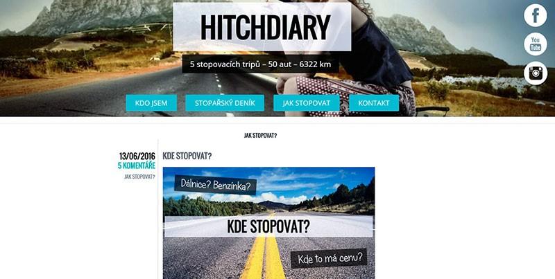 HITCHDIARY - Blog o cestování stopem